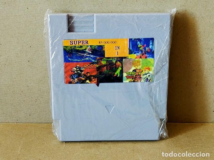 CARTUCHO CLONICO NINTENDO NES: SUPER 85.000.000 IN 1 (Juguetes - Videojuegos y Consolas - Nintendo - Nes)