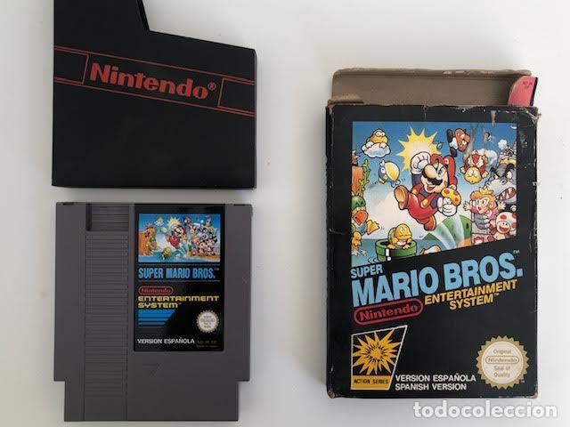 SUPER MARIO BROS, NINTENDO NES (Juguetes - Videojuegos y Consolas - Nintendo - Nes)