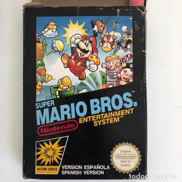 Videojuegos y Consolas: SUPER MARIO BROS, NINTENDO NES - Foto 3 - 210404232