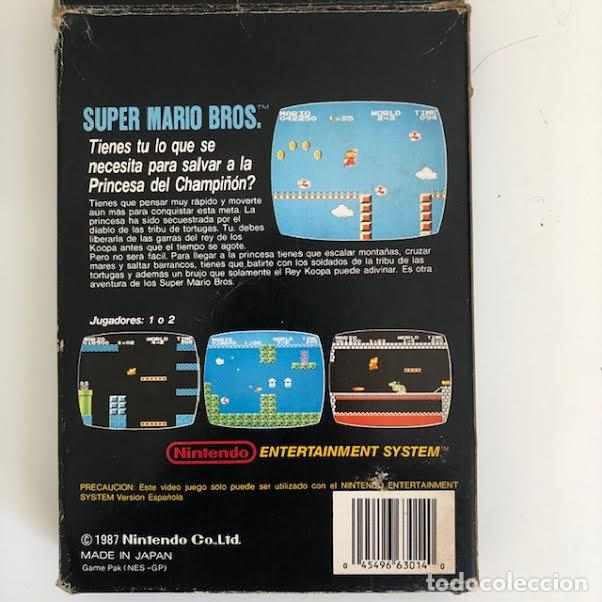 Videojuegos y Consolas: SUPER MARIO BROS, NINTENDO NES - Foto 4 - 210404232