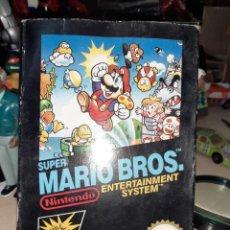 Videojuegos y Consolas: CAJA VACÍA DEL JUEGO SUPER MARIO BROS NINTENDO NES DE 1987.CAJA GRANDE ,VERSIÓN ESPAÑOLA.. Lote 210543636