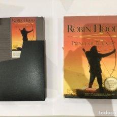 Videojuegos y Consolas: JUEGO ORIGINAL NINTENDO ROBIN HOOD + CAJA + CARTUCHO. Lote 210650831
