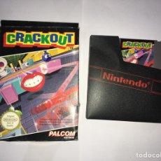 Videojogos e Consolas: JUEGO ORIGINAL NINTENDO CRACKOUT+ CAJA + CARTUCHO. Lote 210651466