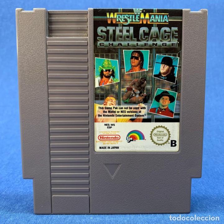 WESTREMANIA STEEL CAGE CHALLENGE - VIDEOJUEGO NINTENDO NES (Juguetes - Videojuegos y Consolas - Nintendo - Nes)