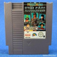 Videojuegos y Consolas: WESTREMANIA STEEL CAGE CHALLENGE - VIDEOJUEGO NINTENDO NES. Lote 210647314