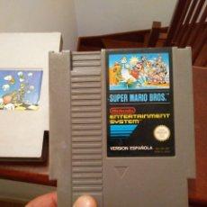 Videojuegos y Consolas: ANTIGUOS JUEGOS NIENTENDO NES SUPER MARIO BROS Y NIPPON DO. Lote 210762332