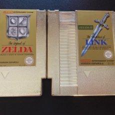 Videojuegos y Consolas: ZELDA 1 Y 2 NES. Lote 210770559