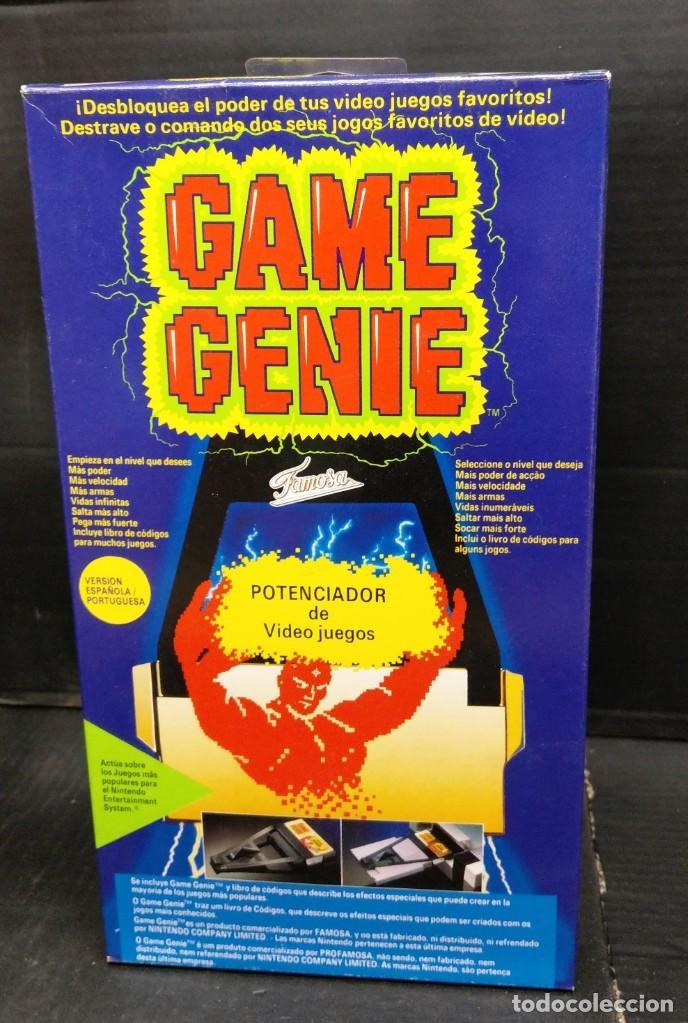 GAME GENIE DE FAMOSA PARA NES-NUEVO SIN ABRIR-VERSION ESPAÑOLA PORTUGUESA (Juguetes - Videojuegos y Consolas - Nintendo - Nes)