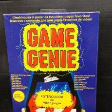 Videojuegos y Consolas: GAME GENIE DE FAMOSA PARA NES-NUEVO SIN ABRIR-VERSION ESPAÑOLA PORTUGUESA. Lote 210772829