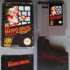 Videojuegos y Consolas: NINTENDO NES SUPER MARIO BROS. COMPLETO CAJA Y MANUAL CIB BOXED PAL R11204. Lote 210840480