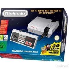 Videojuegos y Consolas: MINI CONSOLA NES NINTENDO NUEVA CON ACCESORIOS. Lote 211521339