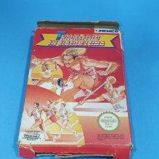 Videojuegos y Consolas: TRACK & FIELD IN BARCELONA PARA NINTENDO NES. Lote 213059863