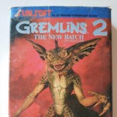 Videogiochi e Consoli: GREMLINS 2 NES NINTENDO. Lote 213490557