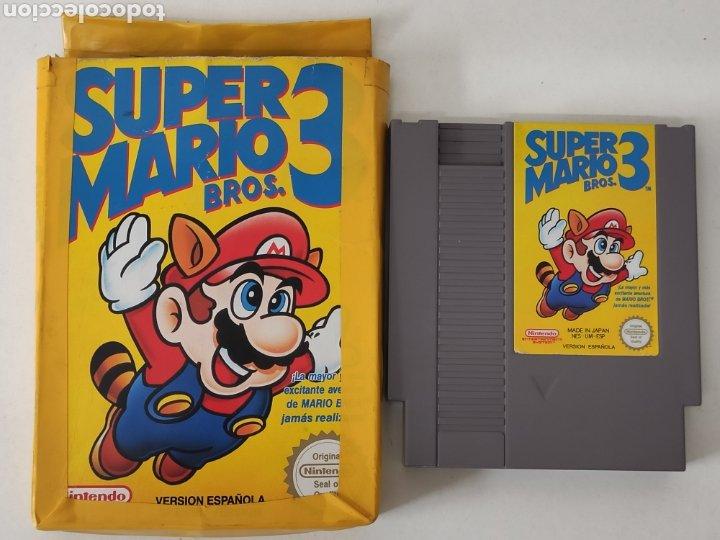 Videojuegos y Consolas: Juego Nintendo NES super Mario 3 Bros - Foto 2 - 213800467