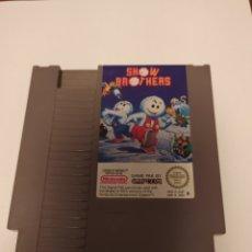 Videojuegos y Consolas: JUEGO SNOW BROTHERS NINTENDO NES , AÑO 1985. Lote 214852121