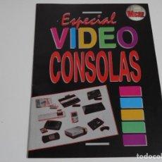 Videojuegos y Consolas: REVISTA MICROMANIA ESPECIAL VIDEO CONSOLAS 2ª ÉPOCA AÑOS 90S HOBBYPRESS SEGA NINTENDO ATARI GAME BOY. Lote 215376517