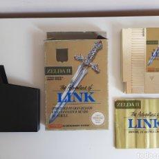 Videogiochi e Consoli: THE ADVENTURE OF LINK ZELDA II 2 COMPLETO NINTENDO NES. Lote 216714771