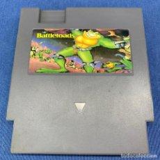 Videojuegos y Consolas: VIDEOJUEGO NINTENDO - CARTUCHO - CLONICO - NINTENDO - NES - BATTLETOADS. Lote 217209040