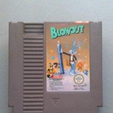 Videogiochi e Consoli: JUEGO NINTENDO NES BLOWOUT BUGS BUNNY PAL B FRA SOLO CARTUCHO ONLY CART R11454. Lote 217802681
