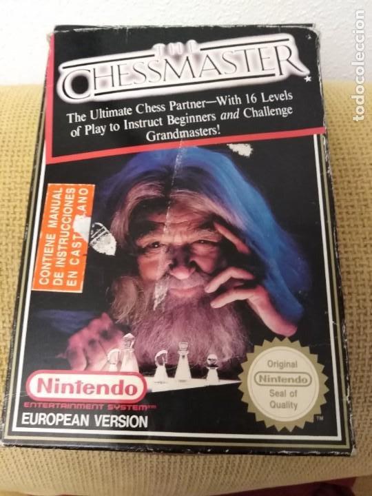 Videojuegos y Consolas: Juego Nintendo Nes The Chessmaster - Foto 8 - 173971965