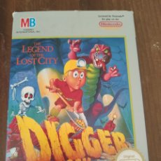 Videojuegos y Consolas: THE LEGEND OFICINA THE LOST CITY, DIGGER T. ROCK. NINTENDO.. Lote 218888698