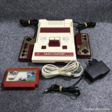 Videojuegos y Consolas: CONSOLA NINTENDO FAMICOM+MOERO PRO YAKYUU+RF+AC. Lote 219188983