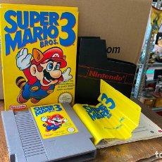 Videojuegos y Consolas: SUPER MARIO 3 PARA NINTENDO NES VERSION ESPAÑOLA - COMPLETO. Lote 219578528