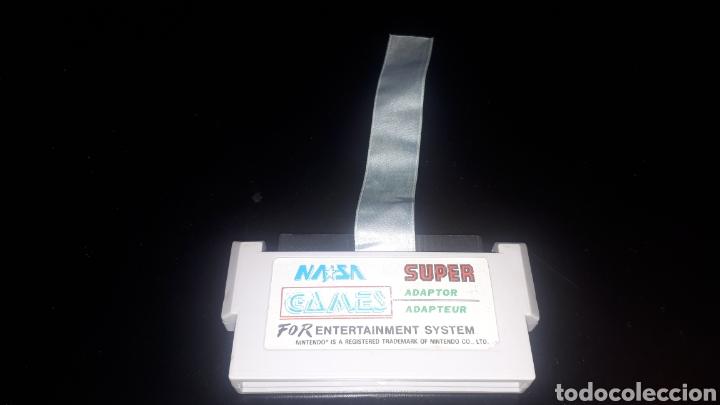 SUPER ADAPTADOR ADAPTOR NASA GAMES (Juguetes - Videojuegos y Consolas - Nintendo - Nes)