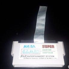 Videojuegos y Consolas: SUPER ADAPTADOR ADAPTOR NASA GAMES. Lote 220090133