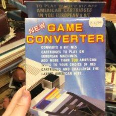 Videojuegos y Consolas: GAME CONVERTER PARA NINTENDO NES - MATERIAL NUEVO DE ANTIGUA TIENDA. Lote 220540350