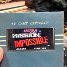 Videojuegos y Consolas: VIDEOJUEGO PARA NINTENDO NES - MISSION IMPOSSIBLE. Lote 220540427