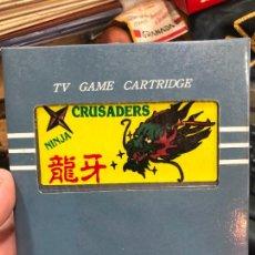 Videojuegos y Consolas: VIDEOJUEGO PARA NINTENDO NES - NINJA CRUSADERS. Lote 220540575