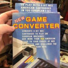 Videojuegos y Consolas: GAME CONVERTER PARA NINTENDO NES - MATERIAL NUEVO DE ANTIGUA TIENDA. Lote 220540771