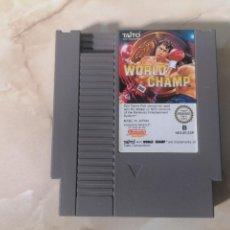 Videojuegos y Consolas: WORLD CHAMP JUEGO DE BOXEO PARA NINTENDO NES PAL ESP. Lote 220721708