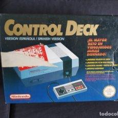 Videojuegos y Consolas: CAJA ORIGINAL CONSOLA NINTENDO / NES. Lote 220736422