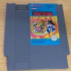 Videojuegos y Consolas: VIDEOJUEGO DRAGON BALL NINTENDO 1985 NES FUNCIONA PERFECTAMENTE BOLA DE DRAGÓN GOKU. Lote 259055315