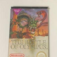 Videojuegos y Consolas: JUEGO NINTENDO NES THE BATTLE OF OLYMPUS. Lote 221499681