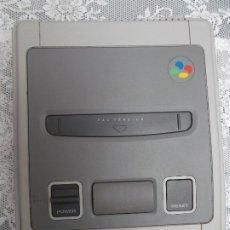 Videojuegos y Consolas: 1992. SUPER NINTENDO SUPER NES (PAL) CONTROL DECK. ENTERTAINMENT SYSTEM. 1ER MODELO. Lote 221908647