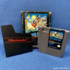 Videojuegos y Consolas: VIDEOJUEGO NINTENDO - NES - SUPER MARIO BROS + CAJA + ESTUCHE DE NINTENDO - AÑO 1987. Lote 221926025
