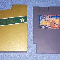 Videojuegos y Consolas: CARTUCHO JUEGO NINTENDO NES TOM Y JERRY EN MUY BUEN ESTADO. Lote 222476533
