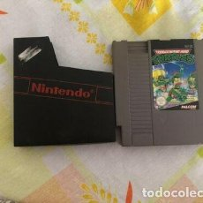 Videojuegos y Consolas: TEENAGE MUTANT NINJA TURTLES-NINTENDO NES-PAL B. Lote 222536083