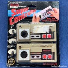 Videojuegos y Consolas: SUPER CONTROLLER INTENDO NES - BANDAI - EN SU BLISTER ORIGINAL - SIN ABRIR - NUEVO. Lote 222584898