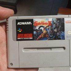 Videojuegos y Consolas: JUEGO SUPER NINTENDO PAL VERSION KONAMI CASTLEVANIA IV. Lote 222736016