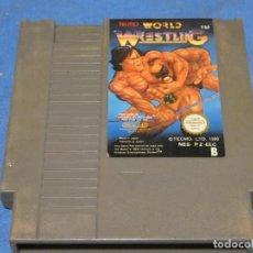 Videojuegos y Consolas: EXPRO JUEGO NINTENDO NES PZ EEC PAL B TECMO WORLD WRESTLING. Lote 222911796