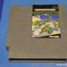 Videojuegos y Consolas: EXPRO JUEGO NINTENDO NES EEC B TORTUGAS NINJA. Lote 222911987