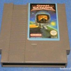 Videojuegos y Consolas: EXPRO JUEGO NINTENDO NES PAL ESP CAPTAIN SKYHWAK. Lote 222912035
