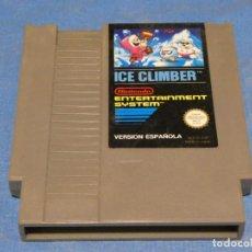 Videojuegos y Consolas: EXPRO JUEGO NINTENDO NES PAL ESP ICE CLIMBER. Lote 222912191