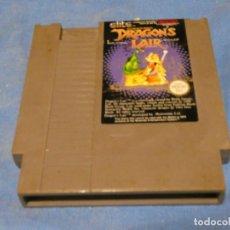 Videojuegos y Consolas: EXPRO JUEGO NINTENDO NES L9 ESP DRAGONS LAIR. Lote 222912605