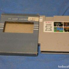 Videojuegos y Consolas: EXPRO JUEGO CLONICAS NES 4 EN 1 MACROSS HOGAN'S ALLEY DUCK HUNT WILD GUNMAN. Lote 222913340