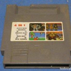 Videojuegos y Consolas: EXPRO JUEGO CLONICAS NES 4 EN 1 MACROSS HOGAN'S ALLEY DUCK HUNT WILD GUNMAN. Lote 222914321